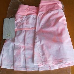 NWT lululemon athletica Run Pace-Setter Skirt*T